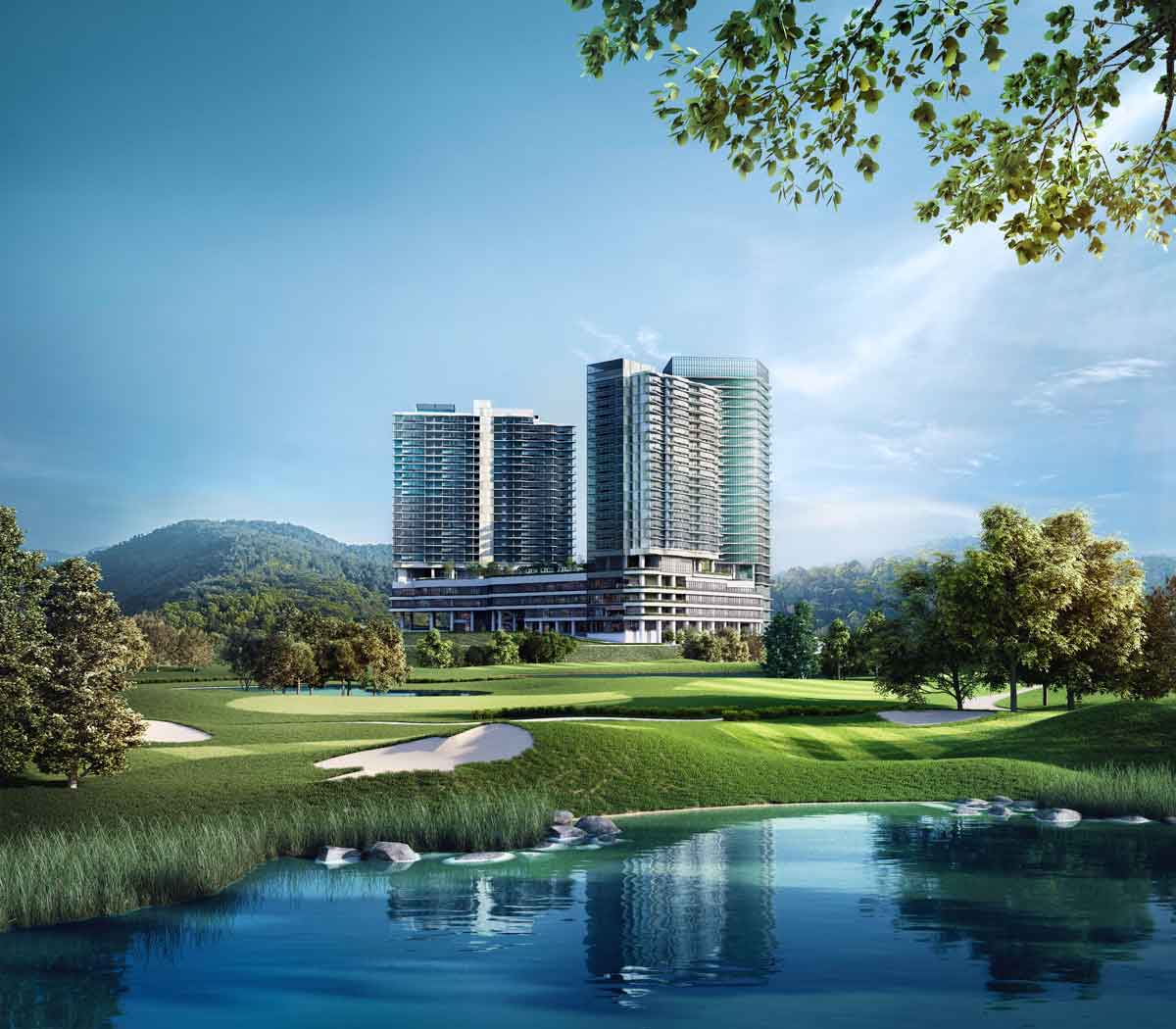 1. Senada Integrated Development Overlooking The Rolling Greens of TPC KL