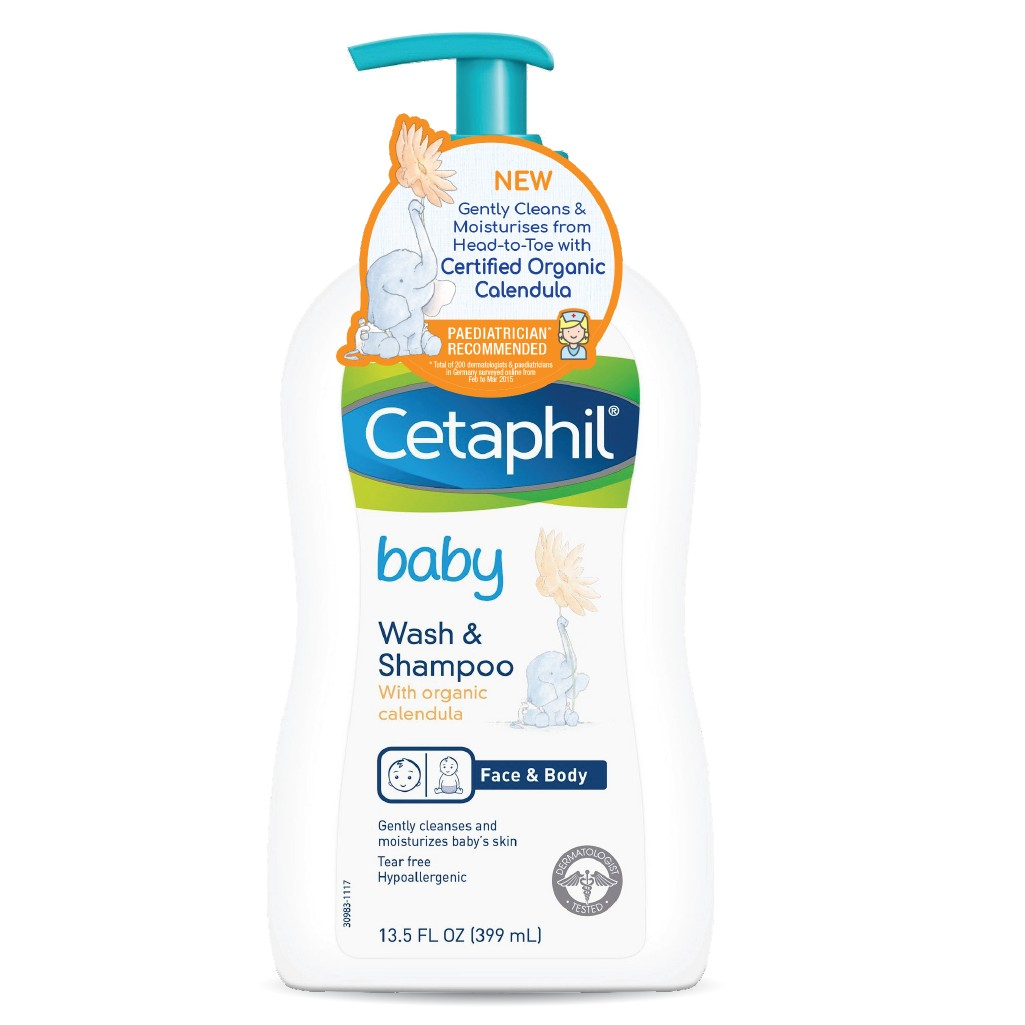 Baby Calendula Wash Shampoo 400ml