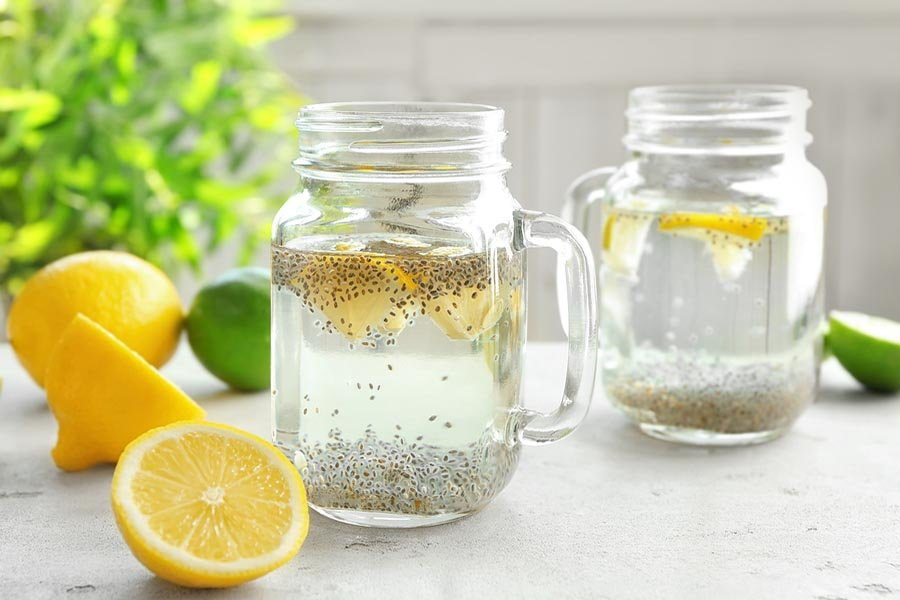 bigstock Mason jars with chia seeds le 206270896