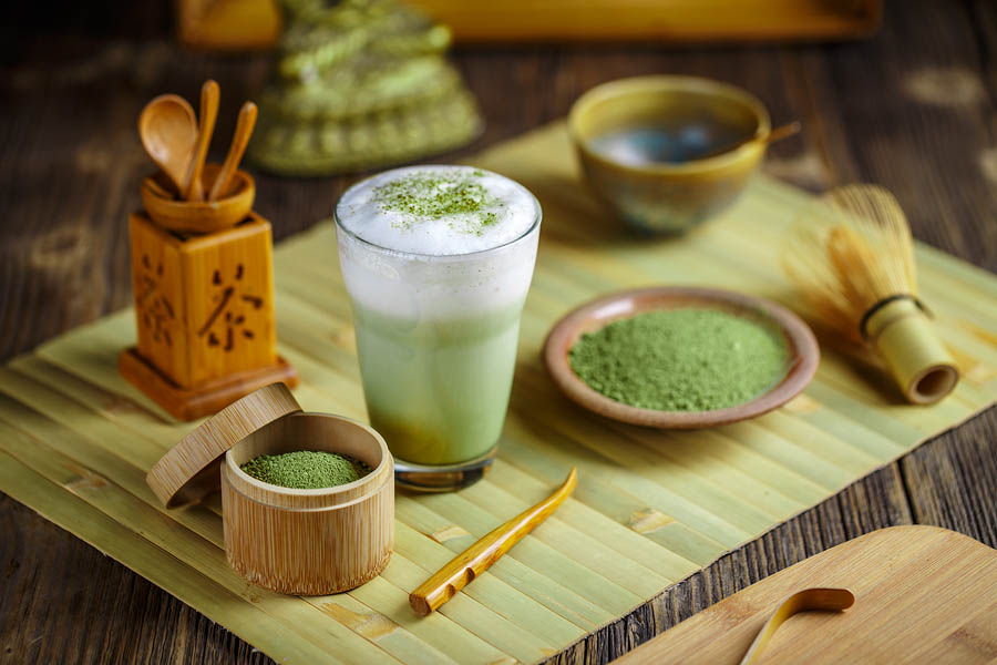 bigstock Matcha Green Tea Latte 154223492