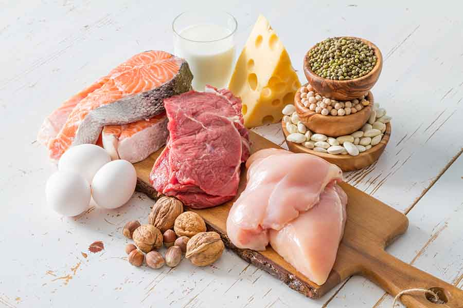 bigstock Selection of protein sources i 114919496
