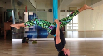 Flying High with Yoga
