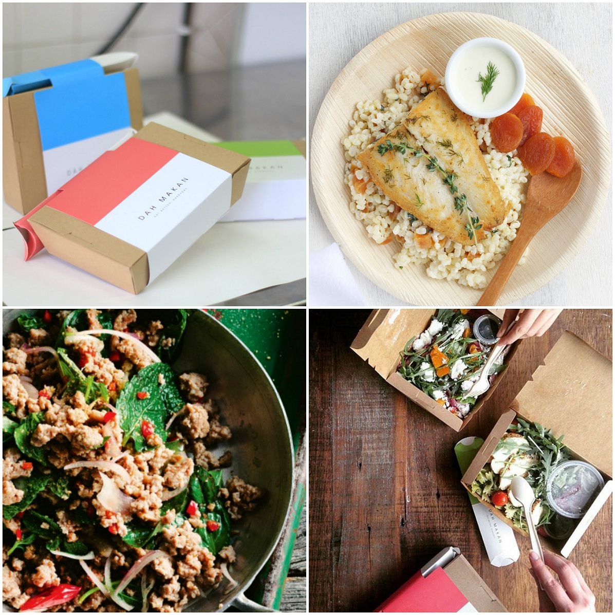 Top 18 Tried And Tested Healthy Delicious Meal Deliveries In Kl Kotak Makan Duo Sunday Green Dah