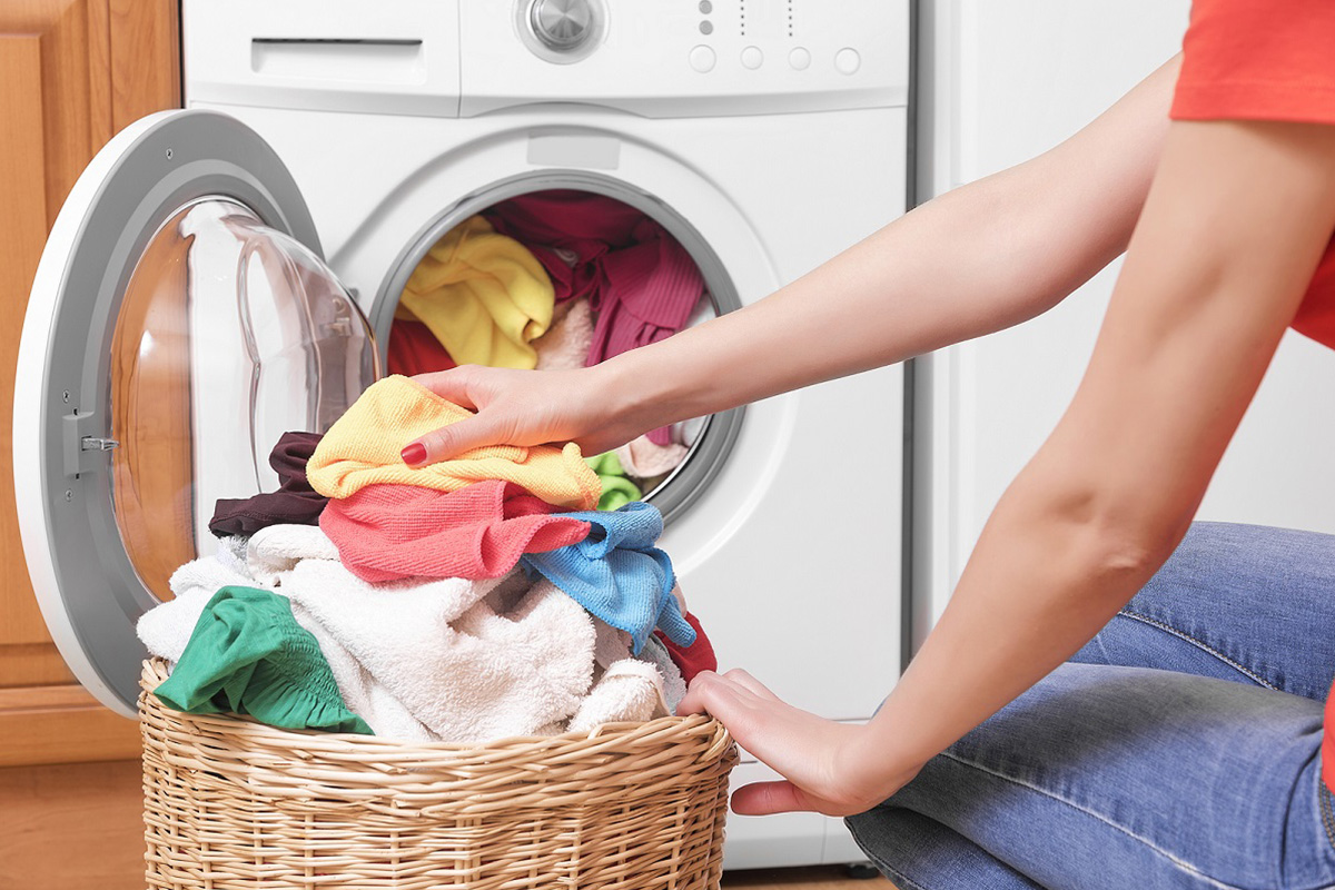 how to wash your clothes in the washing machine
