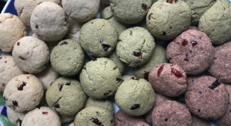 Vegan Cranberry Almond Cookies (3 Ways): Who Said Chinese New Year Treats Couldn't Be Healthy?