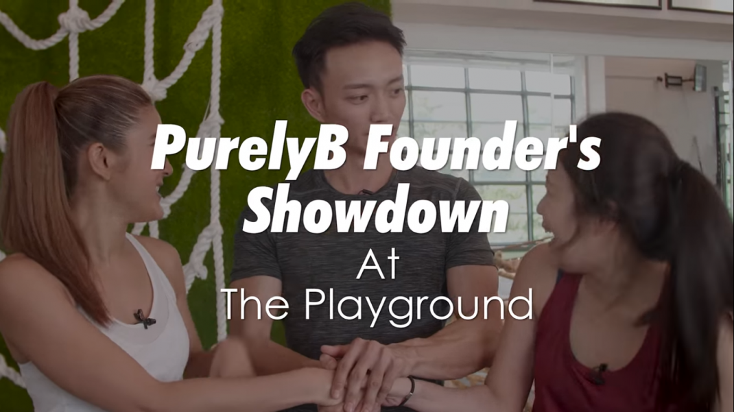 PurelyB Co-Founders Go Head-to-Head In A Showdown At The Playground Fitness