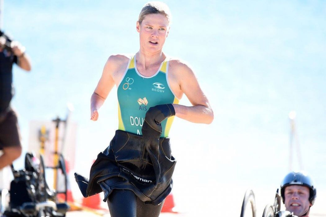 Paralympic Triathlete Kate Doughty: Winning Single-Handedly