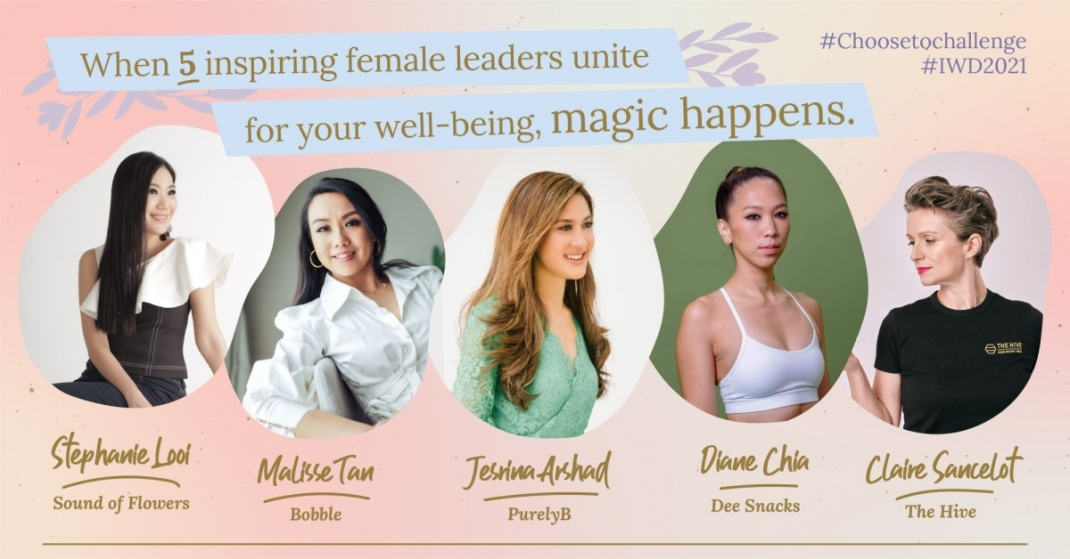 Live Your Passion: How 5 Female Entrepreneurs Unite to Transform your Life & Well-being (Happy Women's Day)