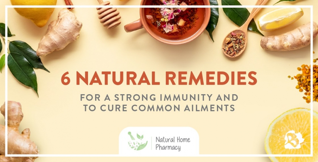6 Natural Remedies To Make From Regular Kitchen Ingredients