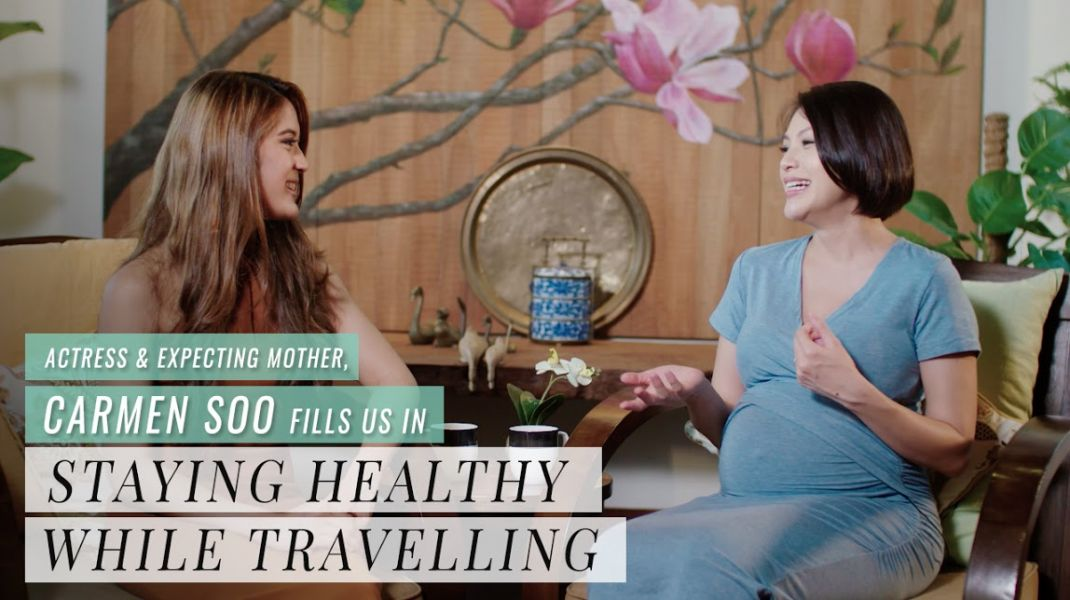 Actress & Expecting Mother, Carmen Soo Fills Us In On Staying Healthy While Travelling