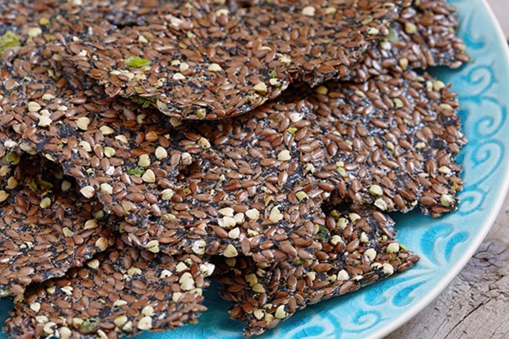 how to make flaxseed crackers