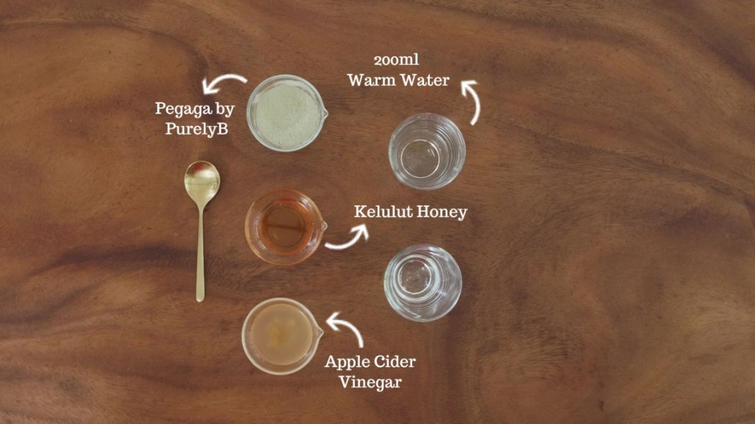 Honey & Pegaga Cider Tonic Recipe