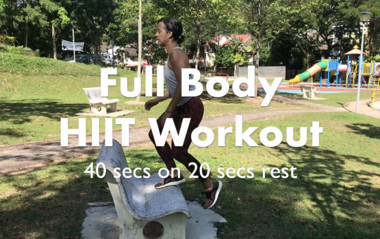 This Full Body No Equipment HIIT Workout Will Get You Working Up A Sweat In No Time