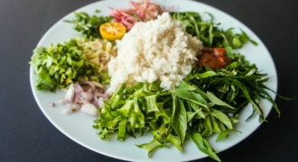 Celebrate RAW-ya with Nasi Ulam!