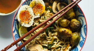 Flavours Of Japan - Healthy Ramen Recipe