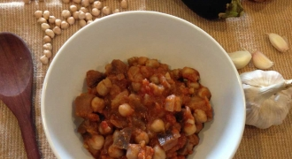 Eggplant and Chickpea Stew