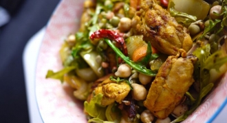 Kung Pao Chicken With A Twist