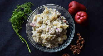 Davina Goh's Potato Water Apple Salad recipe