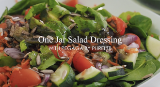 An Easy Pegaga Salad Dressing That Will Help Boost Your Skin & Brain Health