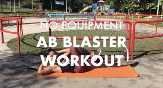 An Ab Blaster Workout You Can Do Anywhere, No Equipment Needed!