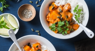 One-Pot Pumpkin Tempeh Curry — Tasty Minus The Fuss!
