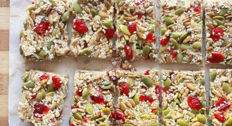 Coconut Cranberry Seed Bar