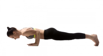Yoga Pose of the Week: Chaturanga Dandasana