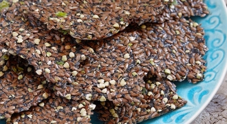 Flaxseed Crackers