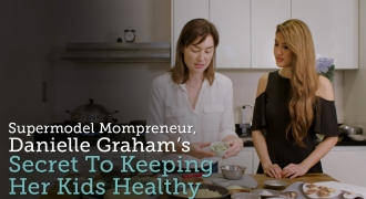 Supermodel Mompreneur, Danielle Graham's Secret To Keeping Her Kids Healthy