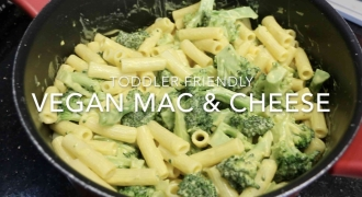 Kid-Friendly Vegan Mac & Cheese