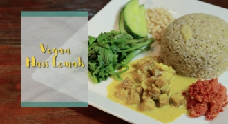 Healthy Nasi Lemak Recipe