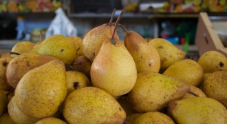 Ginger Sauteed Pears