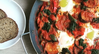 Breakfast Is Served - A Healthy, Hearty Shakshuka