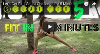 Fit Challenge Series - Squat For 5 Minutes