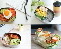What's For Lunch? 4 Easy & Healthy Lunchbox Ideas