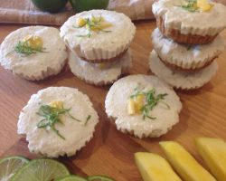Mango & Lime Tarts (Makes Approximately 12 Tarts)