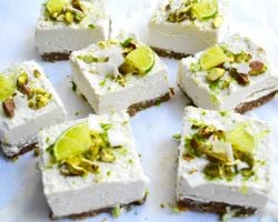 My Personal Favourite - Raw, No-Bake Coconut and Lime Cheesecake