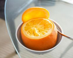 A Natural And Effective Cough Remedy – Steamed Orange With Salt