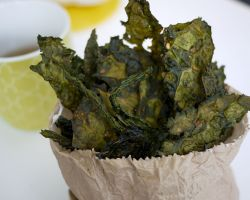 Kale Crisps With An Asian Twist