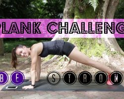Fit Challenge Series – Let's Plank!