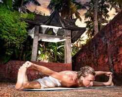Yoga Pose of the Week: Upavistha Konasana