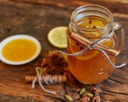 Ginger Tea with Honey & Lemon