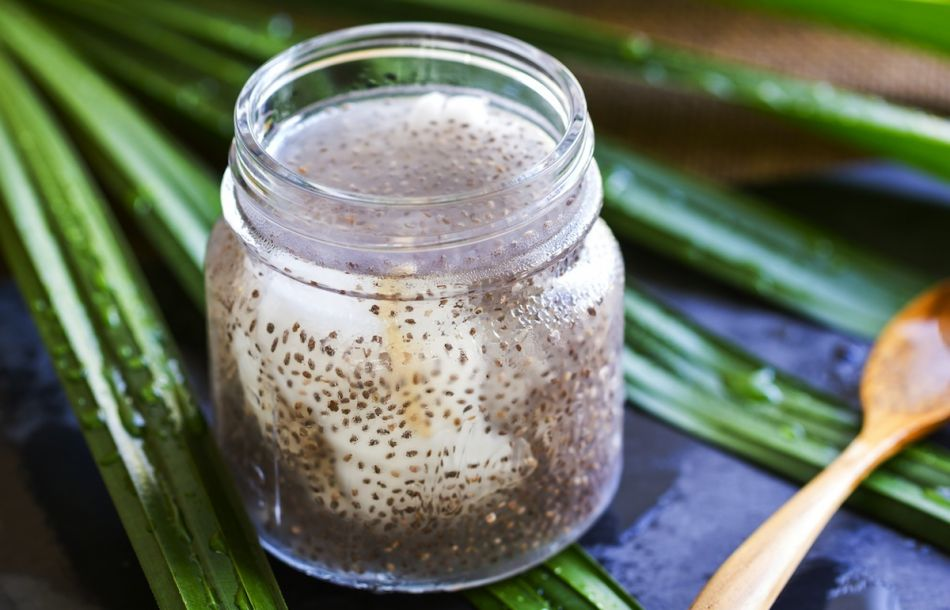 Food  For Your Skin – Coconut Chia Mask