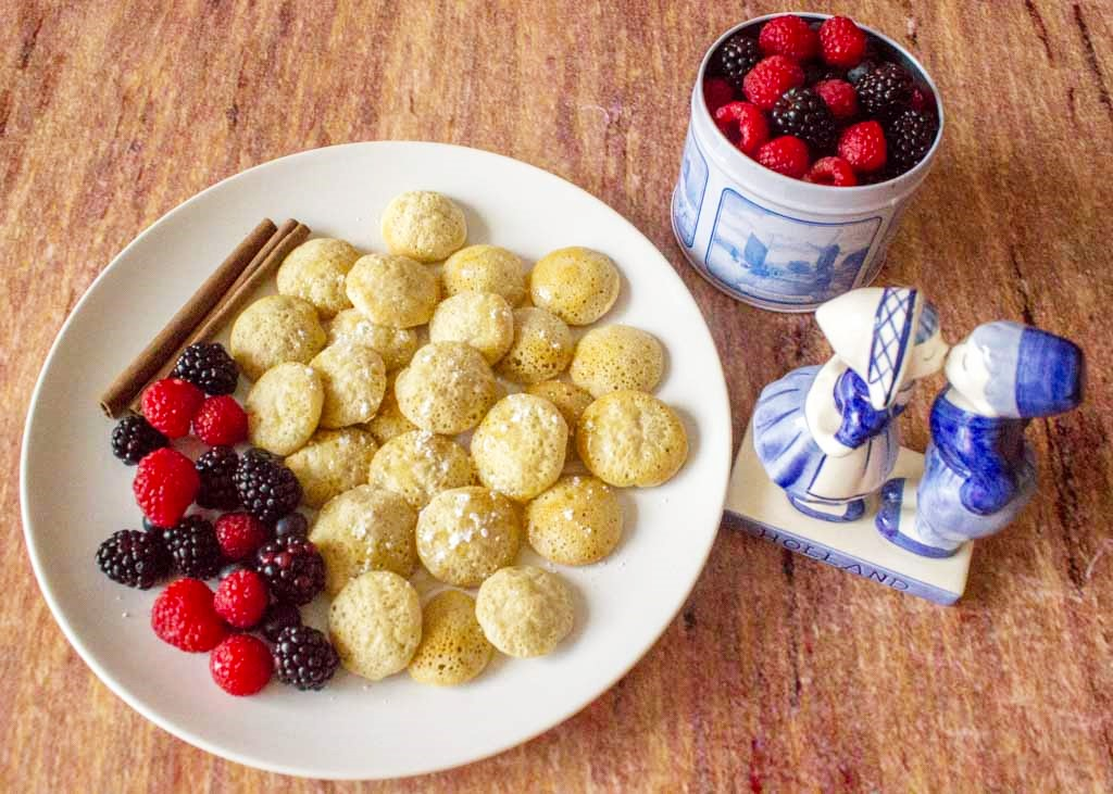 From The Land Of Tulips – Mini Pancakes Recipe