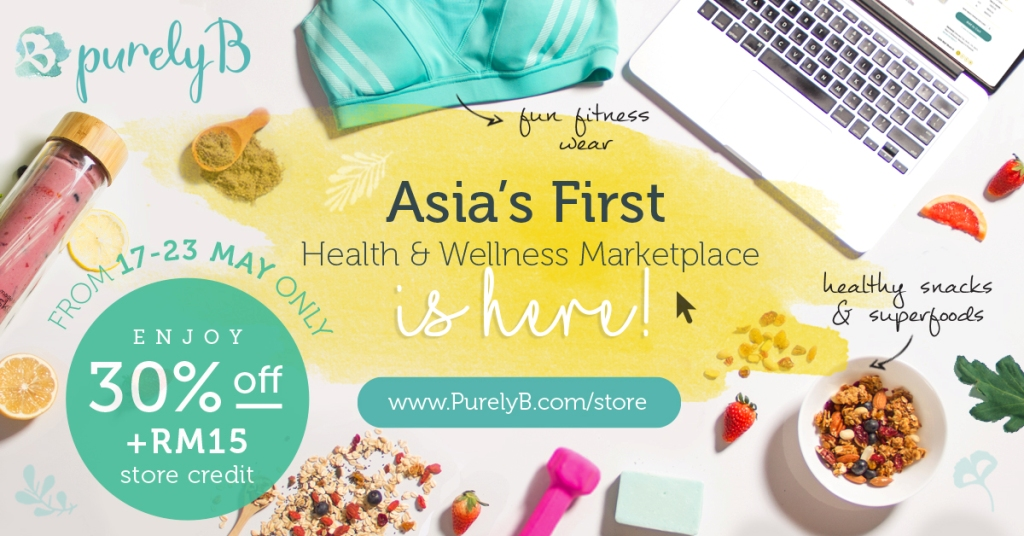 PurelyB launches Asia's first health wellness marketplace