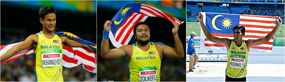 Malaysia Creates History At Rio Paralympics 2016, Bags Three Golds And A Bronze [Updated]