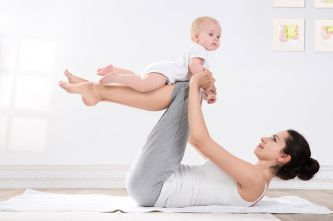 6 postpregnancy yoga poses for the busy mama