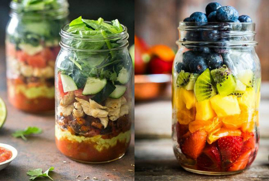 5 Deliciously Pretty Weight Loss Friendly Meal Ideas