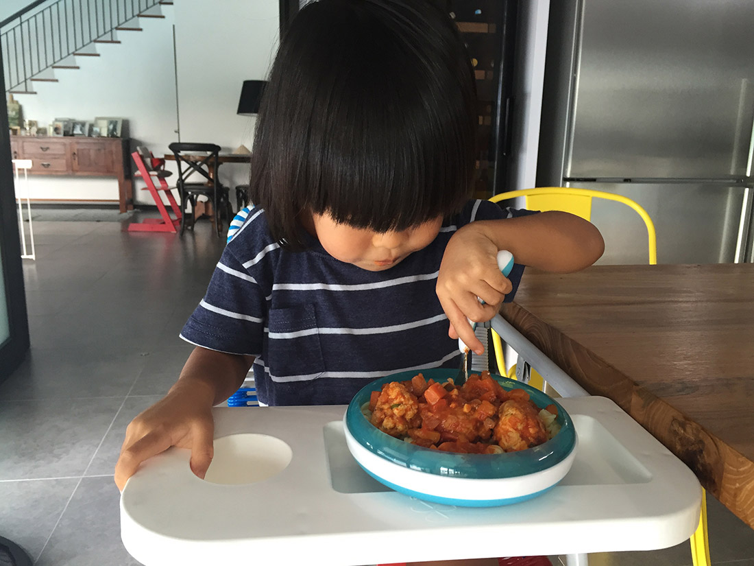 The Malaysian Toddler's Food Review: DISH by Ili