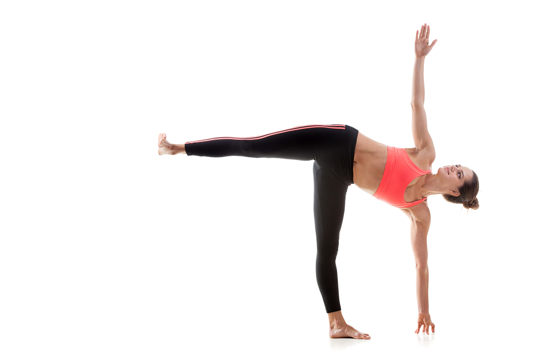 Yoga Pose of the Week: Ardha Chandrasana / Half Moon Phase
